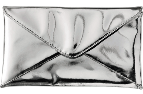 STYLE-IDEALS SILVER CLUTCH 17
