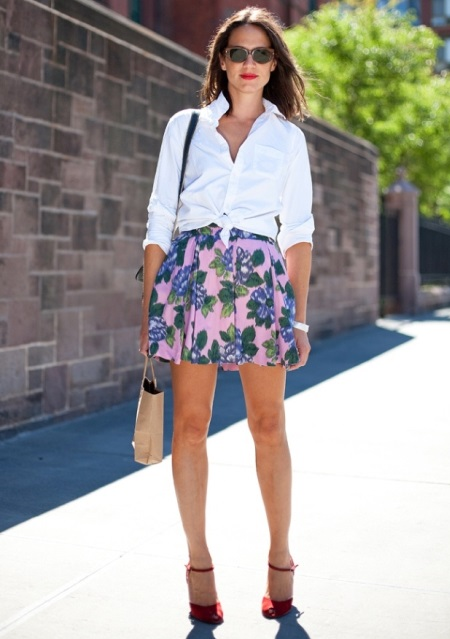 STYLE IDEALS PRINTED SKIRTS 06