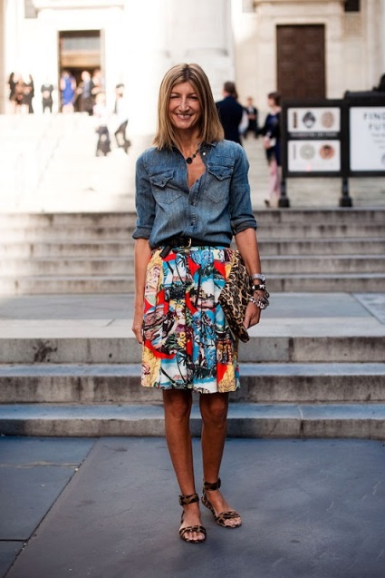 STYLE IDEALS PRINTED SKIRTS 09